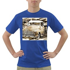 Vintage Chevrolet Pick Up Truck Dark T Shirt by MichaelMoriartyPhotography