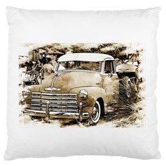 Vintage Chevrolet Pick Up Truck Large Flano Cushion Case (two Sides) by MichaelMoriartyPhotography