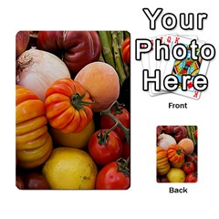 Heirloom Tomatoes Multi Purpose Cards (rectangle)