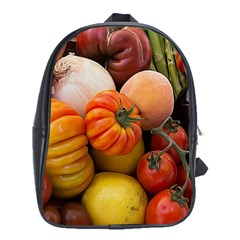 Heirloom Tomatoes School Bags(Large)  by MichaelMoriartyPhotography