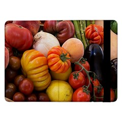Heirloom Tomatoes Samsung Galaxy Tab Pro 12.2  Flip Case by MichaelMoriartyPhotography