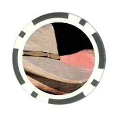 Straw Hats Poker Chip Card Guards (10 Pack)  by MichaelMoriartyPhotography