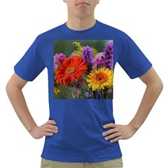 Colorful Flowers Dark T-Shirt by MichaelMoriartyPhotography