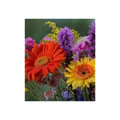 Colorful Flowers Shower Curtain 48  X 72  (small)  by MichaelMoriartyPhotography