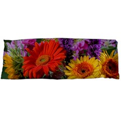 Colorful Flowers Body Pillow Case (Dakimakura) by MichaelMoriartyPhotography