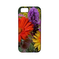Colorful Flowers Apple Iphone 5 Classic Hardshell Case (pc+silicone) by MichaelMoriartyPhotography