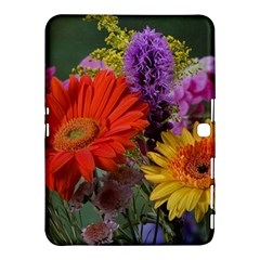 Colorful Flowers Samsung Galaxy Tab 4 (10 1 ) Hardshell Case  by MichaelMoriartyPhotography