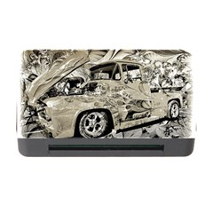 Old Ford Pick Up Truck  Memory Card Reader With Cf by MichaelMoriartyPhotography