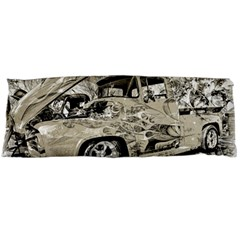 Old Ford Pick Up Truck  Body Pillow Case Dakimakura (two Sides) by MichaelMoriartyPhotography