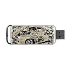 Old Ford Pick Up Truck  Portable USB Flash (Two Sides) by MichaelMoriartyPhotography