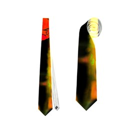Red Beauty Neckties (Two Side)  by MichaelMoriartyPhotography
