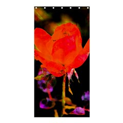 Red Beauty Shower Curtain 36  x 72  (Stall)  by MichaelMoriartyPhotography
