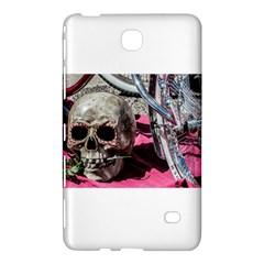 Skull And Bike Samsung Galaxy Tab 4 (8 ) Hardshell Case  by MichaelMoriartyPhotography