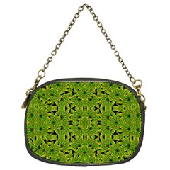 Geometric African Print Chain Purses (one Side)  by dflcprints