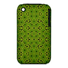 Geometric African Print Apple Iphone 3g/3gs Hardshell Case (pc+silicone) by dflcprints