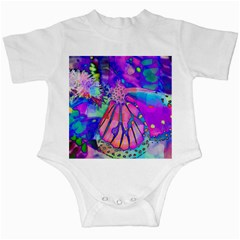 Psychedelic Butterfly Infant Creepers by MichaelMoriartyPhotography
