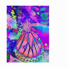 Psychedelic Butterfly Small Garden Flag (two Sides) by MichaelMoriartyPhotography