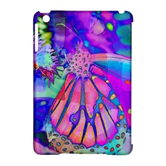 Psychedelic Butterfly Apple iPad Mini Hardshell Case (Compatible with Smart Cover) by MichaelMoriartyPhotography