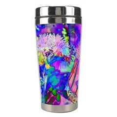 Psychedelic Butterfly Stainless Steel Travel Tumblers by MichaelMoriartyPhotography