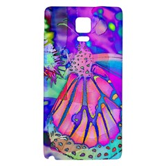 Psychedelic Butterfly Galaxy Note 4 Back Case by MichaelMoriartyPhotography