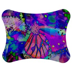 Psychedelic Butterfly Jigsaw Puzzle Photo Stand (bow) by MichaelMoriartyPhotography