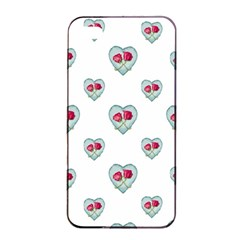 Love Ornate Motif Print Apple Iphone 4/4s Seamless Case (black) by dflcprints