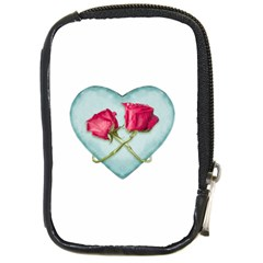 Love Ornate Motif  Compact Camera Cases by dflcprints