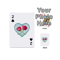 Love Ornate Motif  Playing Cards 54 (mini)  by dflcprints