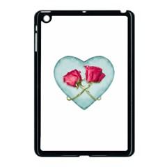 Love Ornate Motif  Apple Ipad Mini Case (black) by dflcprints