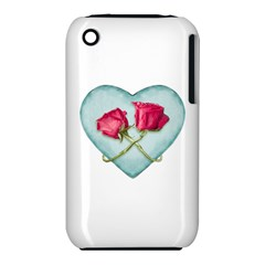 Love Ornate Motif  Apple Iphone 3g/3gs Hardshell Case (pc+silicone) by dflcprints
