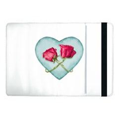 Love Ornate Motif  Samsung Galaxy Tab Pro 10 1  Flip Case by dflcprints