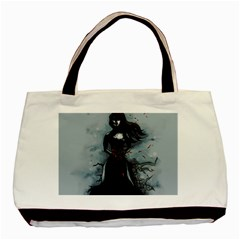 He Never Came Basic Tote Bag by lvbart