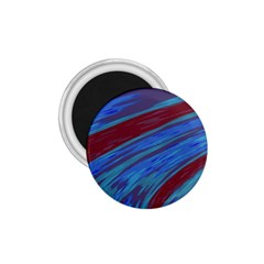 Swish Blue Red Abstract 1 75  Magnets by BrightVibesDesign