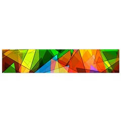 Colorful Triangles                                                                  Flano Scarf by LalyLauraFLM