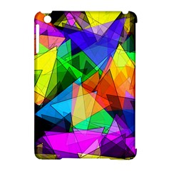 Colorful Triangles                                                                  apple Ipad Mini Hardshell Case (compatible With Smart Cover) by LalyLauraFLM