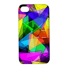 Colorful Triangles                                                                  			apple Iphone 4/4s Hardshell Case With Stand by LalyLauraFLM