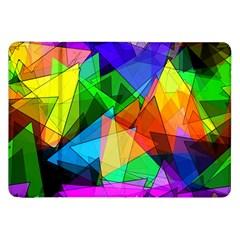 Colorful Triangles                                                                  samsung Galaxy Tab 8 9  P7300 Flip Case by LalyLauraFLM