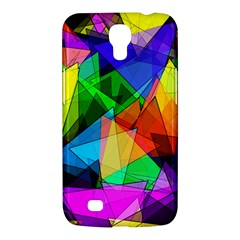 Colorful Triangles                                                                  			samsung Galaxy Mega 6 3  I9200 Hardshell Case by LalyLauraFLM