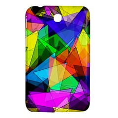 Colorful Triangles                                                                  			samsung Galaxy Tab 3 (7 ) P3200 Hardshell Case by LalyLauraFLM