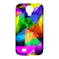 Colorful Triangles                                                                  samsung Galaxy S4 Classic Hardshell Case (pc+silicone) by LalyLauraFLM