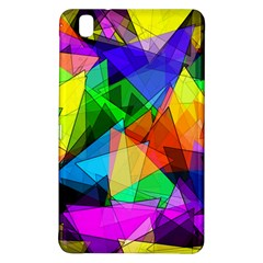 Colorful Triangles                                                                  			samsung Galaxy Tab Pro 8 4 Hardshell Case by LalyLauraFLM