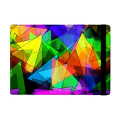 Colorful Triangles                                                                  			apple Ipad Mini 2 Flip Case by LalyLauraFLM