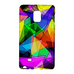Colorful Triangles                                                                  			samsung Galaxy Note Edge Hardshell Case