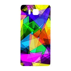 Colorful Triangles                                                                  samsung Galaxy Alpha Hardshell Back Case by LalyLauraFLM