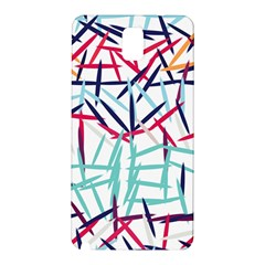 Strokes                                                                    			samsung Galaxy Note 3 N9005 Hardshell Back Case by LalyLauraFLM