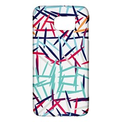 Strokes                                                                    			samsung Galaxy S6 Hardshell Case by LalyLauraFLM