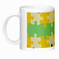 Puzzle Pieces                                                                     Night Luminous Mug by LalyLauraFLM