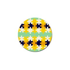 Puzzle Pieces                                                                     golf Ball Marker by LalyLauraFLM
