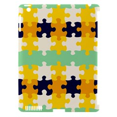 Puzzle Pieces                                                                     apple Ipad 3/4 Hardshell Case (compatible With Smart Cover) by LalyLauraFLM