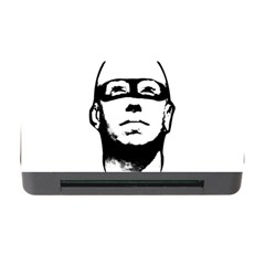 Baldhead Hero Comic Illustration Memory Card Reader With Cf by dflcprints